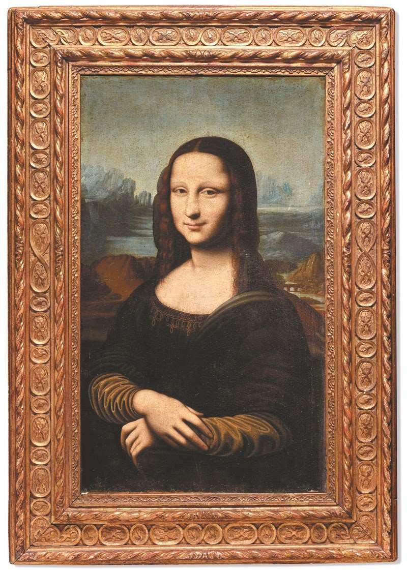 山寨版蒙娜丽莎微笑  拍卖估千万