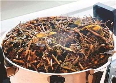 茶油仙草面线